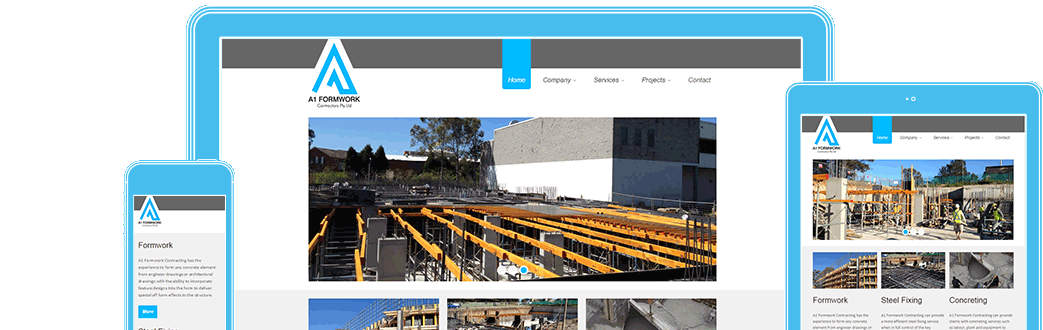 A1formwork in responsive design