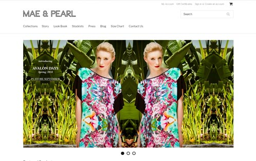 Mae and Pearl Fashion label